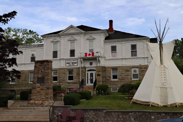 The courthouse in Baddeck