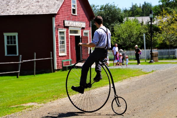 Bicycle from 1893, made in Sherbrooke