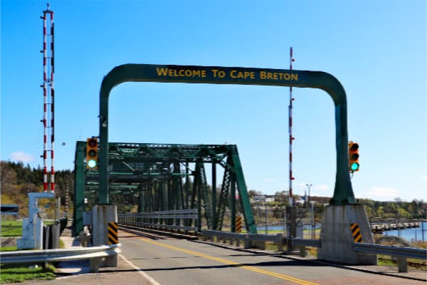 Canso Causeway - Welcome to Cape Breton